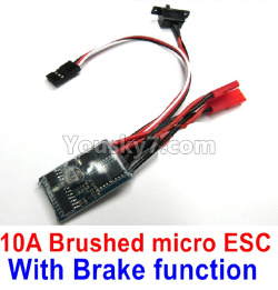 WPL C14 C-14 Hercules Parts-16-03 10ABrushed micro ESC-With Brake function Version