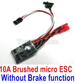 WPL C14 C-14 Hercules Parts-16-04 10ABrushed micro ESC-Without Brake function Version