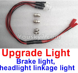 WPL C14 C-14 Hercules Parts-16-05 Brake light, headlight linkage light(You need buy the ESC with Brake function)