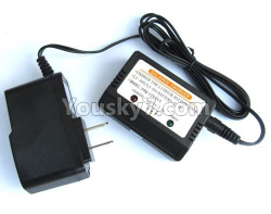 WPL C14 C-14 Hercules Parts-16-08 Upgrade Charger and balance charger for Upgrade 7.4V 1500MAH Battery