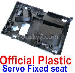 WPL C14 C-14 Hercules Parts-18-01 Official Plastic Servo Fixed seat,Servo Frame