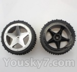Wltoys L959 L202-parts-14 Front Tire(2pcs)