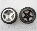 Wltoys L959 L202-parts-15 RC Buggy Rear Tire(2pcs)