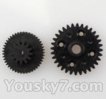 Wltoys L959 L202-parts-17 Rear gear box Reducers,Speed Reduction Gear