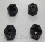 Wltoys L959 L202-parts-25 Hexagon Wheel Seat(4pcs)