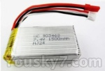 Wltoys L959 L202-parts-42 7.4v 1500mah battery with JST Plug(Use for L959)