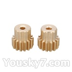 Wltoys L959 L202-parts-53 Motor Gear 14T(2pcs)