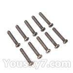 Wltoys L959 L202-parts-67 Round Head Screw 2.6x14mm(10pcs)