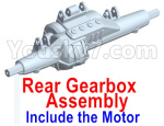 Wltoys 10428-D Parts-Rear drive gearbox assembly (lithium version)-Include the Motor-10428-D.0696