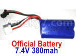 Wltoys 10428-D Parts-Battery-1pcs-7.4V 380mah Battery with SM Plug-10428-D.0700