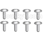 Wltoys 10428-D Parts-ST2.6x4.5-PWB7 screws(8pcs)-10428-D.0692