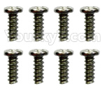 Wltoys 10428-D Parts-ST2.3x4PB screws(8pcs)-18428-B.0554