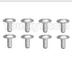 Wltoys 10428-D Parts-ST2.6X6-PWB8 Screws(8pcs)-18428-B.0558