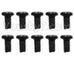 Wltoys 10428-D Parts-2.6x6 Pan head screws(10pcs)-A949-38