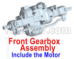 Wltoys 10428-E Parts-Front drive gearbox assembly (lithium version)-Include the Motor-10428-D.0698