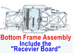 Wltoys 10428-E Parts-Bottom frame assembly-(Include the Receiver board)-10428-D.0699