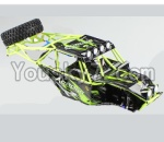 Wltoys 10428 Parts-107 Whole Car shell unit(Include Car shell,All Rollcage)
