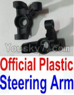 Wltoys 10428 Parts-11-01 Official Plastic Steering arm-2pcs