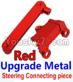 Wltoys 10428 Parts-15-02 Upgrade Metal Steering connecting piece-Red