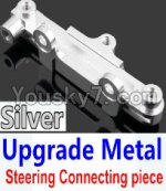 Wltoys 10428 Parts-15-05 Upgrade Metal Steering connecting piece-Silver