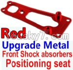 Wltoys 10428 Parts-16-02 Upgrade Metal Front Shock absorbers Positioning seat-Red