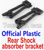 Wltoys 10428 Parts-26-01 Official Plastic Rear Shock absorber bracket-2pcs