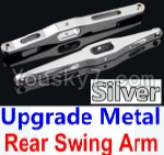 Wltoys 10428 Parts-29-05 Upgrade Metal Rear Swing Arm-Silver-2pcs