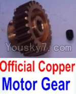 Wltoys 10428 Parts-59-01 Official Copper Motor Gear