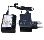 Wltoys 12401 Parts-59 0124-03 Official charger and balance charger(Can charge 1 battery at the same time)