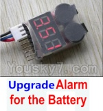 Wltoys 12404 Parts-56 0123-04 Upgrade Alarm for the Battery,Can test whether your battery has enouth power