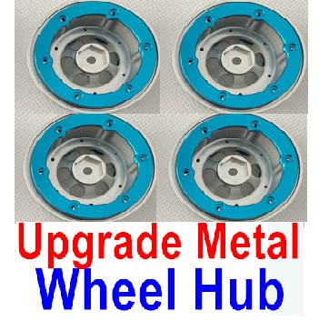 Upgrade Metal Wheel hub(4pcs)-Not include the Tire lether