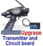 Wltoys 12428 Car Spare Parts-00126-02 Upgrade P33 Transmitter and Circuit board