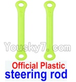 Wltoys 12428 Car Spare Parts-0019-01 Official Plastic Steering rod(2pcs)