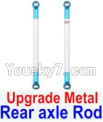 Wltoys 12428 Car Spare Parts-0022-02 Upgrade Metal Rear axle Rod(2pcs)