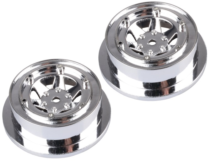 Wltoys 12428 Car Spare Parts-0045 wheel(2pcs-Not include the Tire leather)