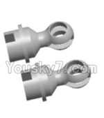 Wltoys 12428 Car Spare Parts-0086 Universal joint(2PCS)-10X16.2MM