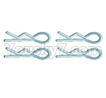 Wltoys 124018 Parts Pin,R-Shape Fixed Pin for the Body shell cover(4pcs)-18428.0441