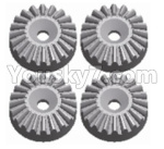 Wltoys 124018 Parts Metal 16T Differential large planetary gear(4pcs)-(Hardware)-124018.1155