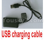 Wltoys 124018 Parts USB Charger and Balance charger-7.4V 2000mA USB Charger-USB-1.1374