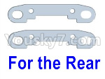 Wltoys 124018 Parts Reinforcement piece for the Rear swing arm-2pcs-124018.1306