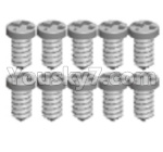 Wltoys 124018 Parts Cross Pan head Self-tapping screws-2.6x6PB-8pcs-A949-38