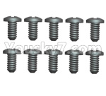 Wltoys 124018 Parts Cross Pan head Self-tapping screws -2.6x8-8pcs-L959-57