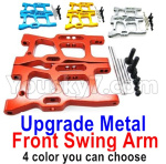 Wltoys 124018 Parts Upgrade Front Metal Swing Arm-4 Color you can choose