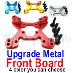 Wltoys 124018 Parts Upgrade Metal Front Shock absorber board-4 Color you can choose