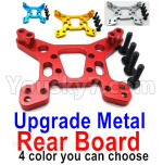 Wltoys 124018 Parts Upgrade Metal Rear Shock absorber board-4 Color you can choose