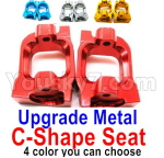 Wltoys 124018 Parts Upgrade Metal C-Shape seat,Door-Shape Seat-2pcs-4 Color you can choose
