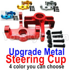 Wltoys 124018 Parts Upgrade Metal Steering Cup-2pcs-4 Color you can choose