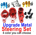Wltoys 124018 Parts Upgrade Metal Steering Set-4 Color you can choose