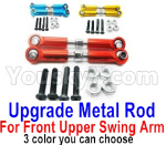 Wltoys 124018 Parts Upgrade Metal Rod for the Front and Upper Swing Arm-2pcs-3 Color you can choose