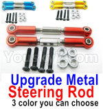 Wltoys 124018 Parts Upgrade Metal Steering Rod for the Servo-2pcs-3 Color you can choose